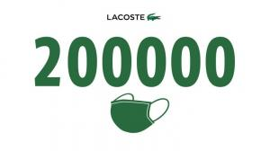Thương hiệu Lacoste đánh dấu cột mốc mới